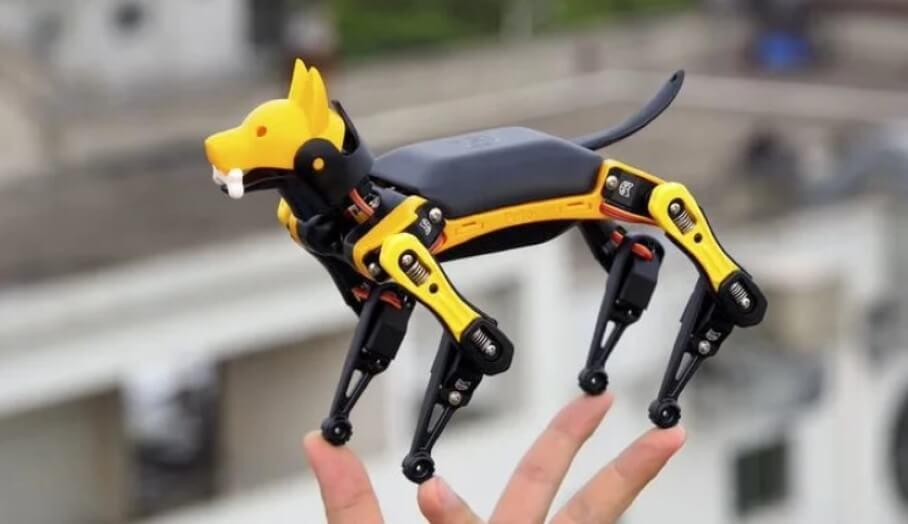 製作和編程屬於你的3D打印機械狗