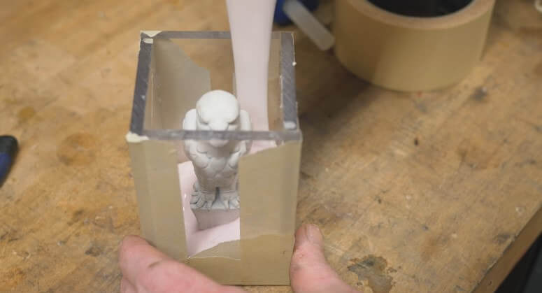 家中自製3D打印鐡鑄模型?