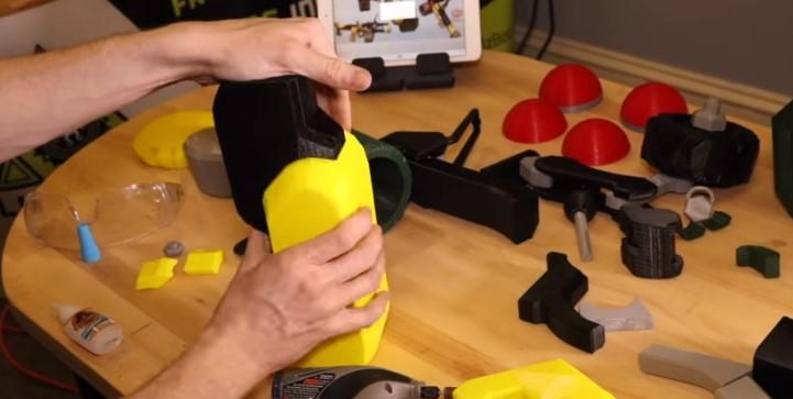 製作3D打印玩具槍過程全公開!