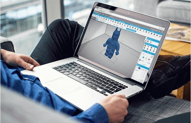 結合切片功能的新3D建模雲端軟件SelfCAD