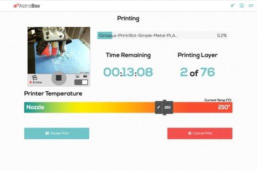 讓你遠端控制3D打印機的小設備 AstroBox RPi 3
