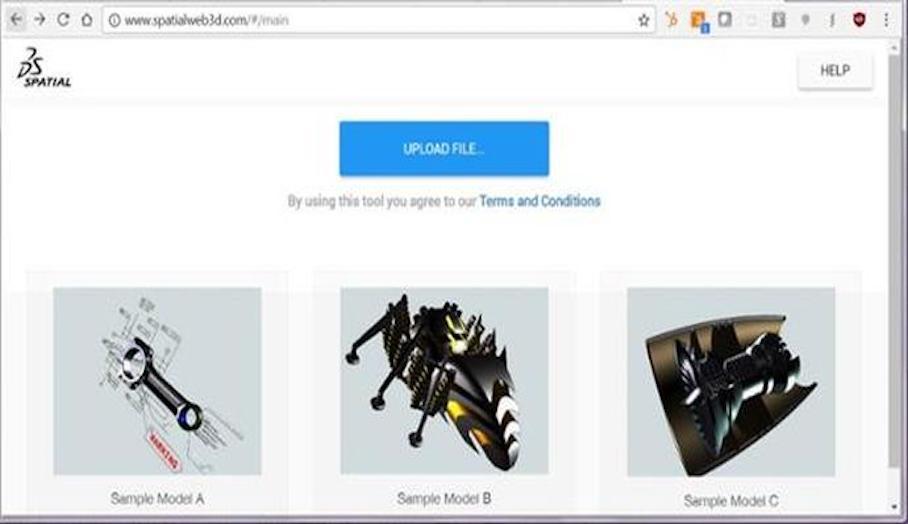 可讓你查看大量不同3D檔案格式模型的瀏覽器