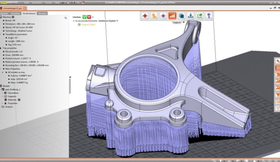 工程師可以用STEP檔案格式進行3D打印的軟件