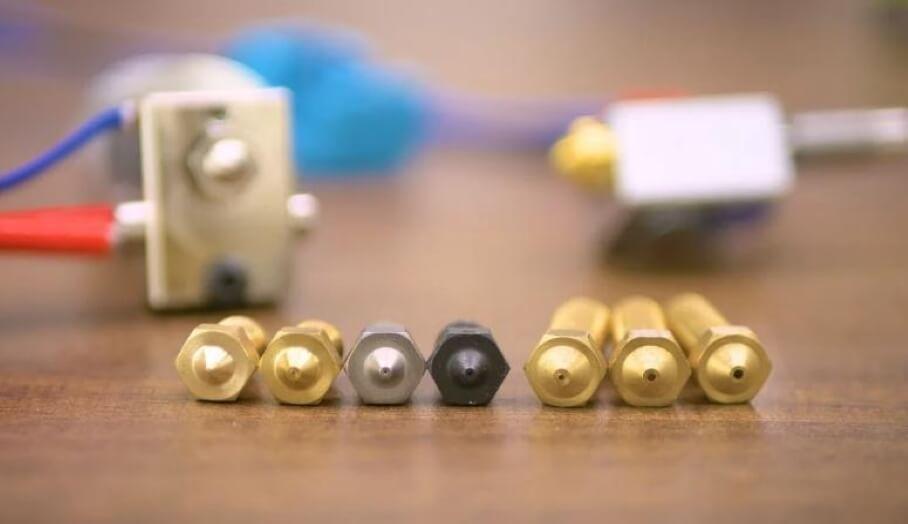 3D打印特別耗材要使用特別噴嘴?