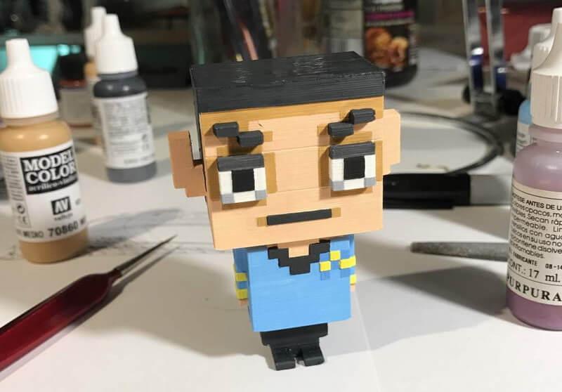 Voxelise—用像素形式畫3D model的軟件 ?