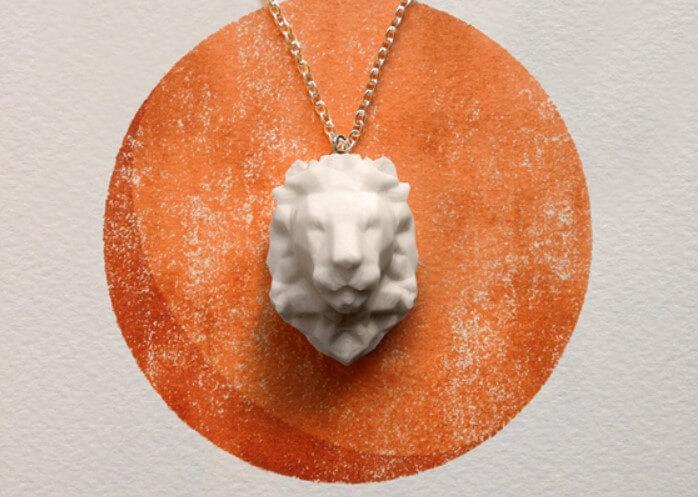 金屬3D打印動物首飾