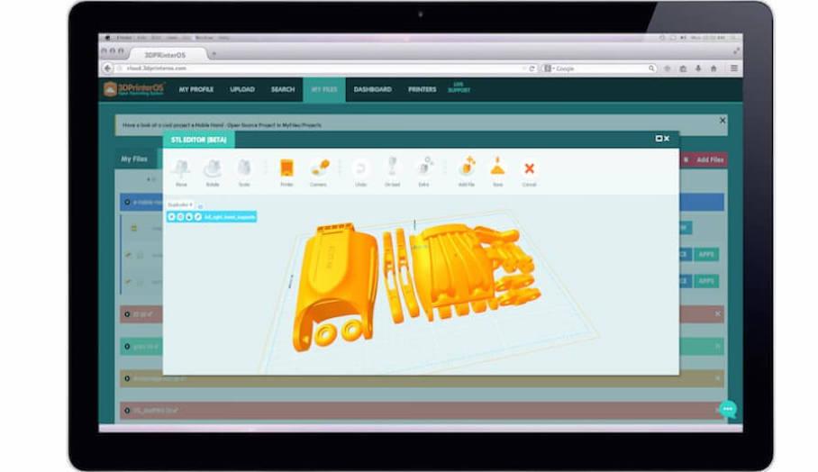3DPrinterOS推出新的3D打印機控制系统