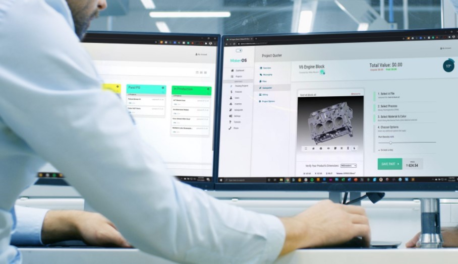 MakerOS宣佈免費提供其3D打印業務管理軟件1