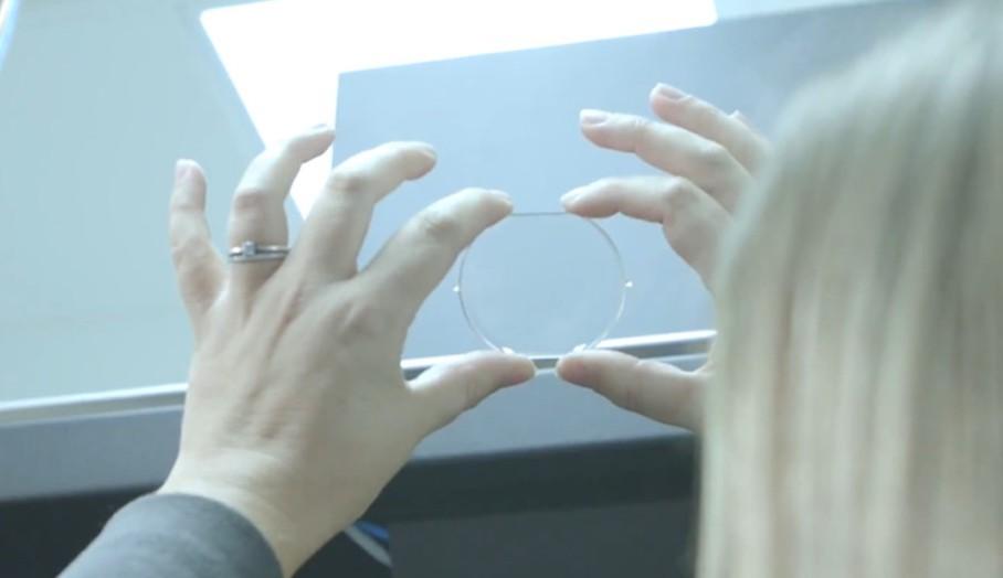 3D打印通透的眼鏡鏡片?1