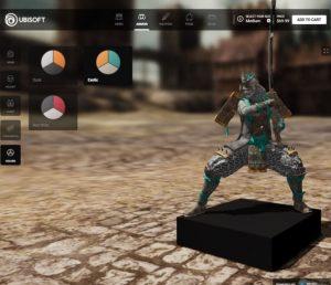 電子遊戲商Ubisoft讓你3D打印喜歡的遊戲人物2