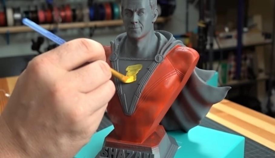 噴塗3D打印模型時要注意什麼1