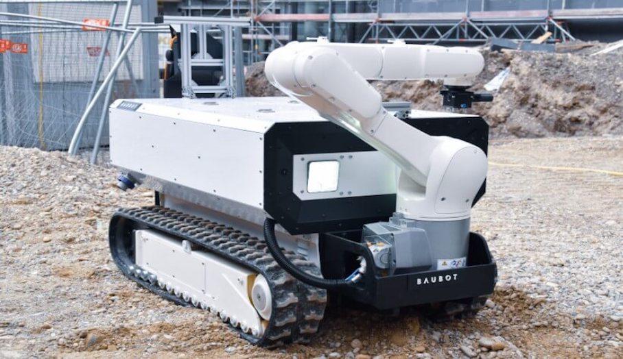 用於現場施工的新式3D打印移動機器人!3