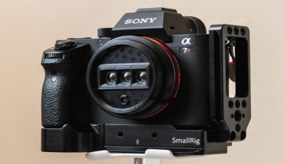 這款 3D 打印鏡頭賦予數碼相機拍攝 3D 照片的能力1
