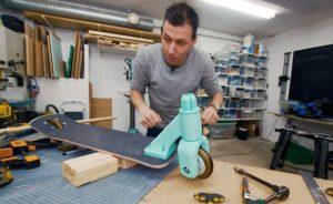 DIY 3D打印摺疊滑板車 3_1