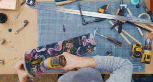 DIY 3D打印摺疊滑板車 4_1